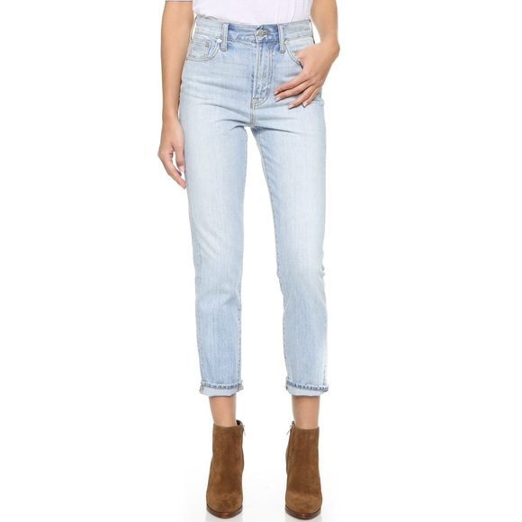 Madewell Denim - NWT Madewell Denim HighRise Perfect Summer Jeans